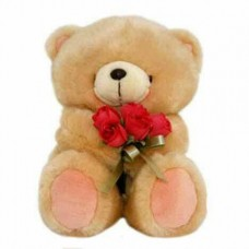 Forever Friends 12 Inches Height (Holding Flowers)